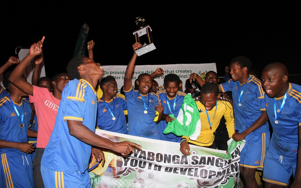 The champions of the tournament – Tiger Football Club