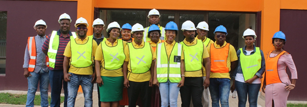 uMfolozi Councillors and Senior Management led by Deputy Mayor Cllr SR Thabethe and Speaker of Council Cllr ZD Mfusi during the inaugural Annual uMfolozi Media Tour.